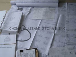 stone project drawing